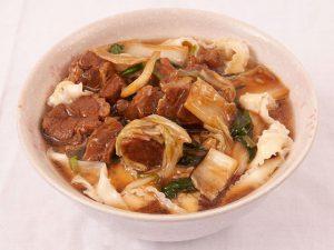 牛肉刀削麺